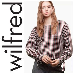 Wilfred Elodi Gingham top